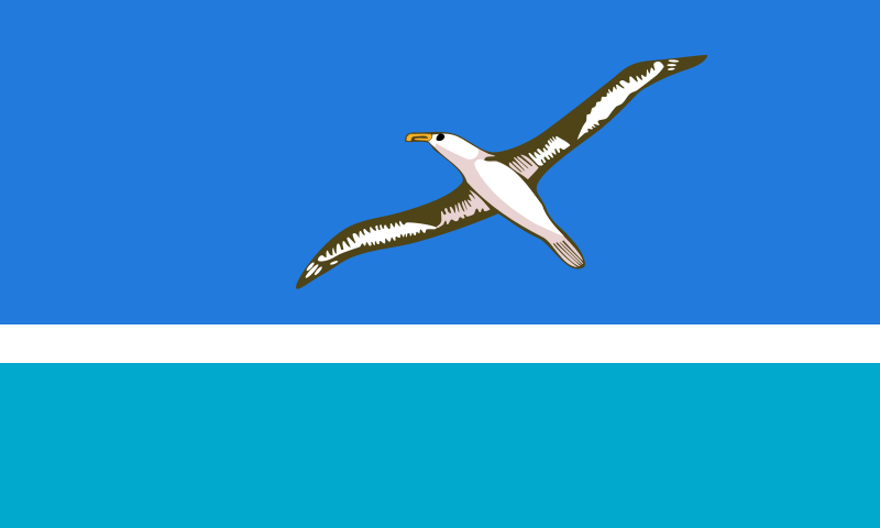 Un Official Flag of MIdway Island